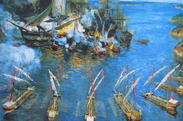 День воинской славы Российской Федерации - победа умыса Гангут (1714)