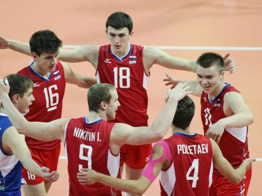 Украинские волейболисты стали серебристыми призерами молодежного чемпионата Европы