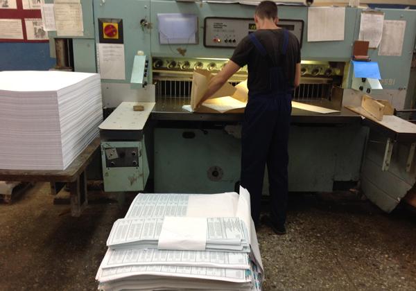 ВоВладимирской области сделаны бюллетени для голосования