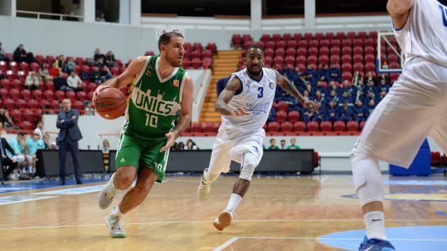Баскетболисты «Цмоки-Минска» победили УНИКС вматче Единой лиги ВТБ