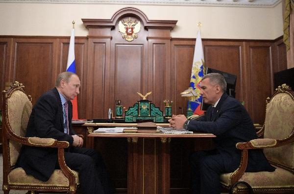 Встреча с Путиным_Пресс-служба Президента