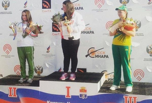 Воронежская спортсменка выиграла первенство Российской Федерации  постендовой стрельбе