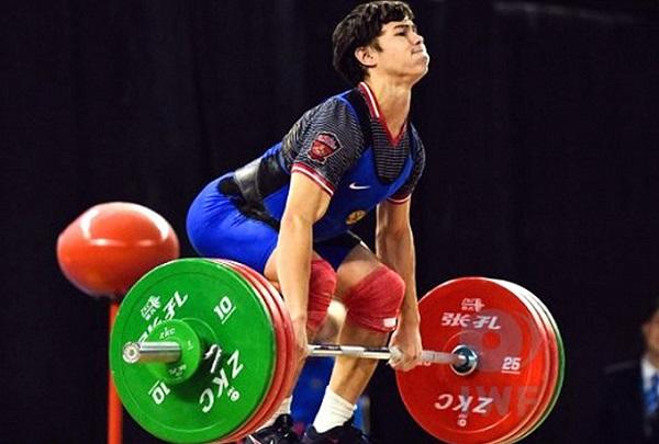Геворг Каграманян завоевал золото наЧЕ потяжелой атлетике