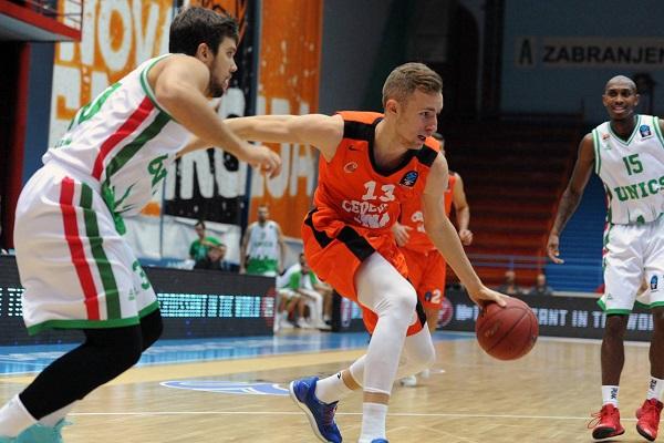 Баскетболисты УНИКСа проиграли «Цедевите» вматче Еврокубка