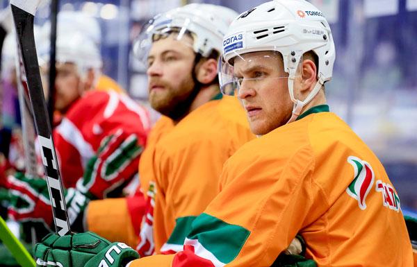 «АкБарс» уступил минскому «Динамо» в постоянном чемпионате КХЛ