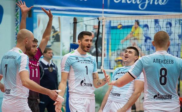Определились соперники русских волейбольных клубов вЛиге чемпионов