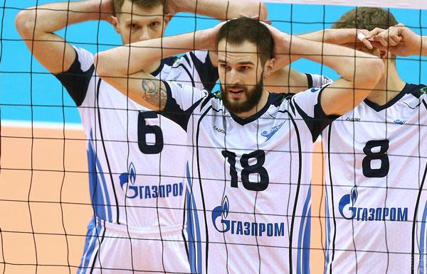 Волейболисты казанского «Зенита» прервали 64-матчевую победную серию вчемпионате Российской Федерации