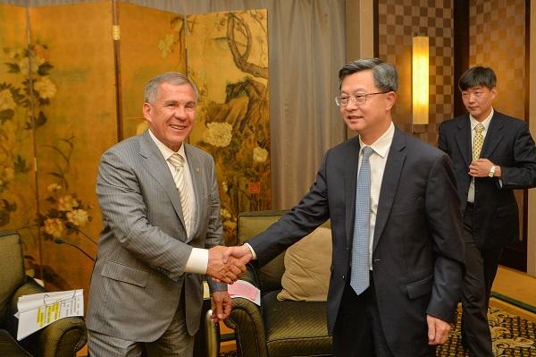 Минниханов в Китае_2_Пресс-служба Президента