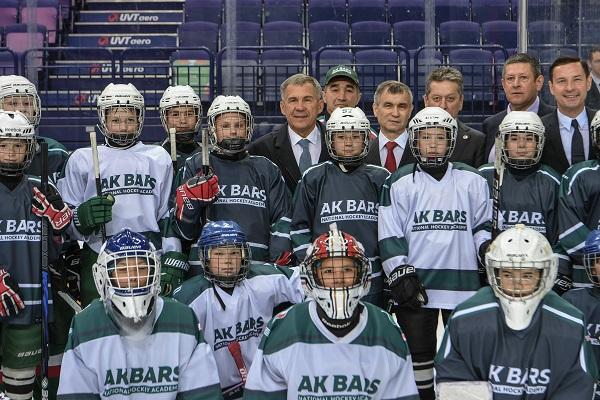 Хоккей_Минниханов_Пресс-служба Президента