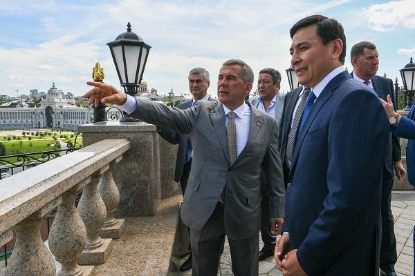 Казахи_Пресс-служба Президента
