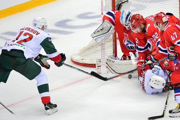 Согласно котировкам, «АкБарс» справится «Локомотив» натурнире Sochi Hockey Open