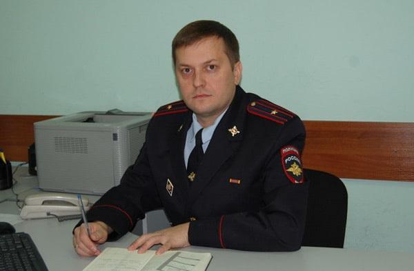Дознаватель Казанского линейного управления МВД России на транспорте майор полиции Дмитрий Рыжов