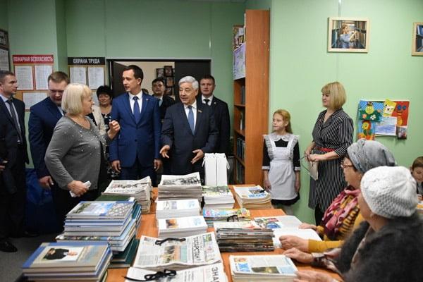 Фарид Мухаметшин ознакомился с деятельностью клуба