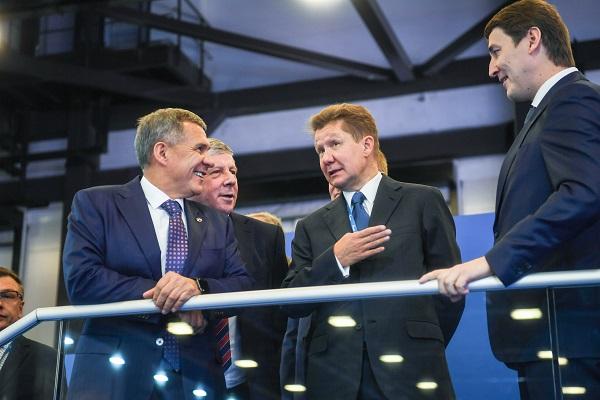 Газпром_Пресс-служба Президента