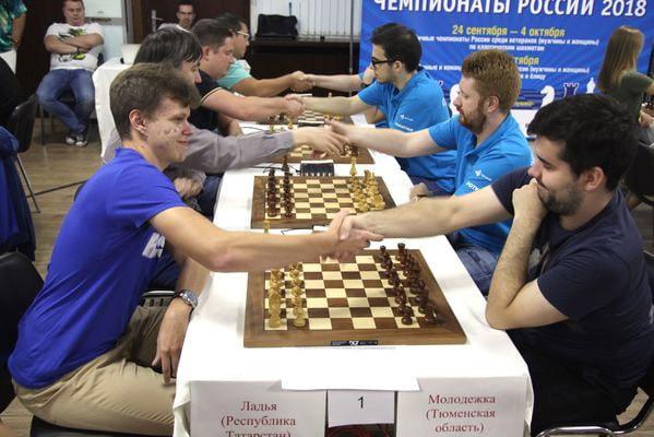 Казанская Ладья выиграла командный чемпионат России по быстрым шахматам