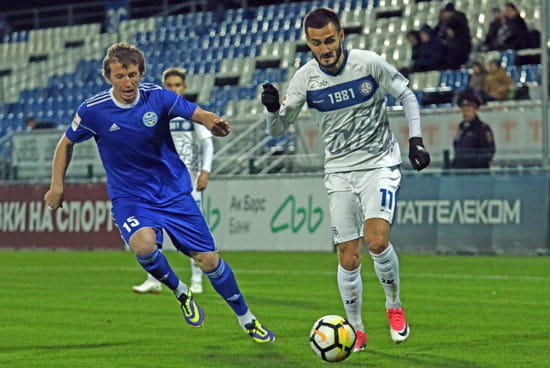 Набережночелнинский «КамАЗ» cыграл с «Челябинском» в очередном матче первенства ПФЛ со счетом 1:1
