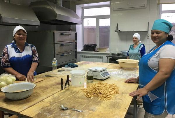 Пекарня в Базарных Матаках готовится к выпуску черного хлеба.