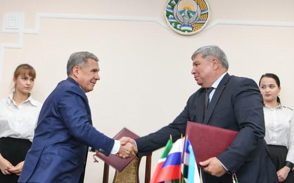 Рустам Минниханов посетил с рабочим визитом Ташкент