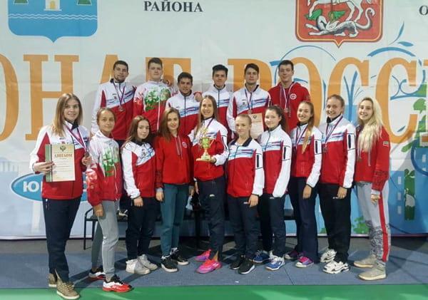 Сборная Татарстана завоевала бронзовые медали командного чемпионата России по бадминтону,