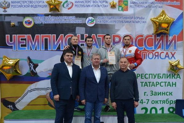 В Заинске прошел Чемпионат России по борьбе на поясах