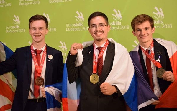 Золотую медаль в компетенции «Инженерный дизайн CAD» завоевал Альберт Минеев