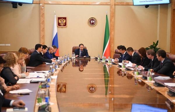 алексей песошин провел совещание по вопросам реализации национальных проектов в Республике Татарстан