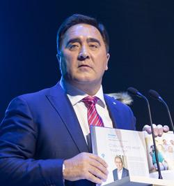 Генеральный директор ОАО «Сетевая компания» Ильшат Фардиев.