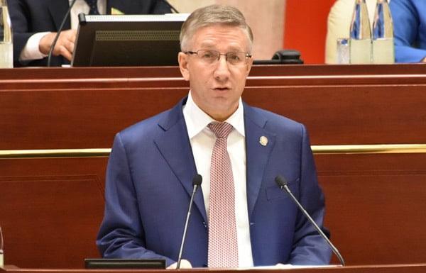 министр финансов Р.Р.Гайзатуллин