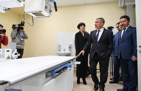 открытия врачебной амбулатории в селе Песчаные Ковали