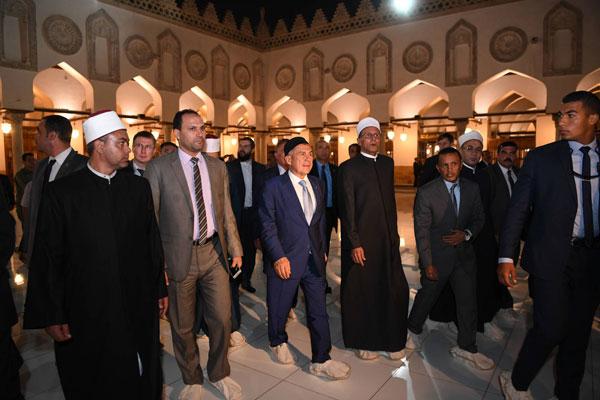 рустам минниханов посетил университет Аль-Азхар