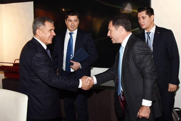 рустам минниханов встретился с вице-президентом компании American Gas&Technology Борисом Шраером