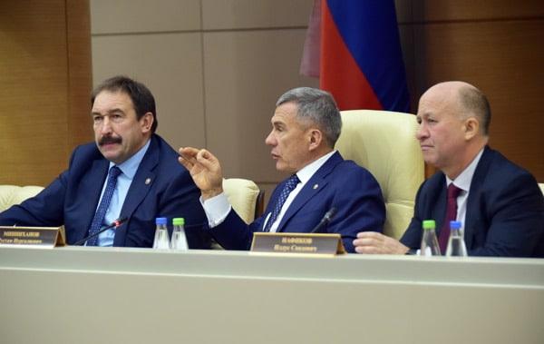совещание финансовых, казначейских и налоговых органов Татарстана