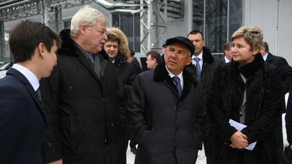 Минниханов в Томске