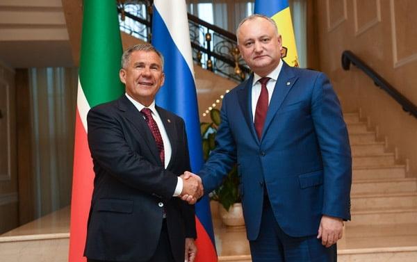 Рустам Минниханов прибыл в Республику Молдова