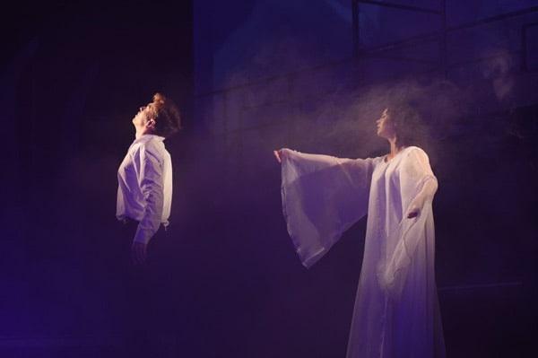 Сцена из спектакля «Последняя пьеса»