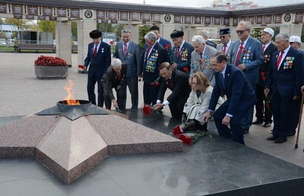 делегация из Казахстана побывала в гостях у активистов Республиканского совета ветеранов