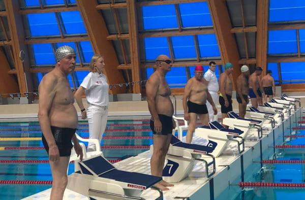 республиканские соревнования по плаванию «Третий возраст»