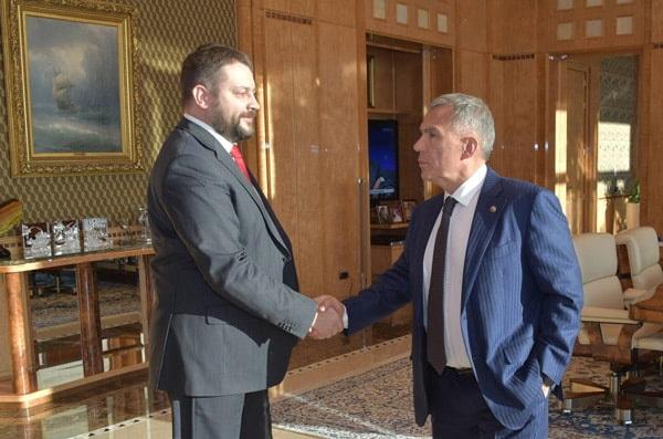 президент рт встретился с директором Ассоциации инновационных регионов России