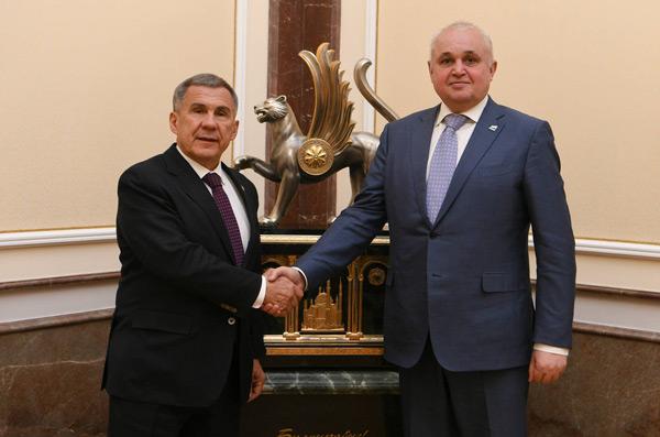 минниханов-встретился-с-губернатором-кемеровской-области