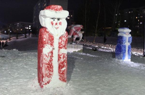 снежные-фигуры