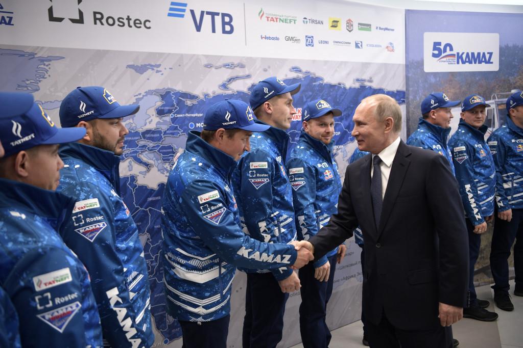 Путин и КАМАЗ мастер