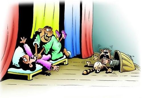 карикатура-отелло