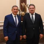 минниханов и представитель узбекистана