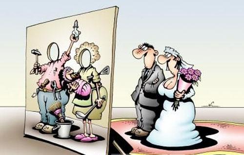 карикатура-годовщина-свадьбы