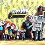 карикатура-коллекционер