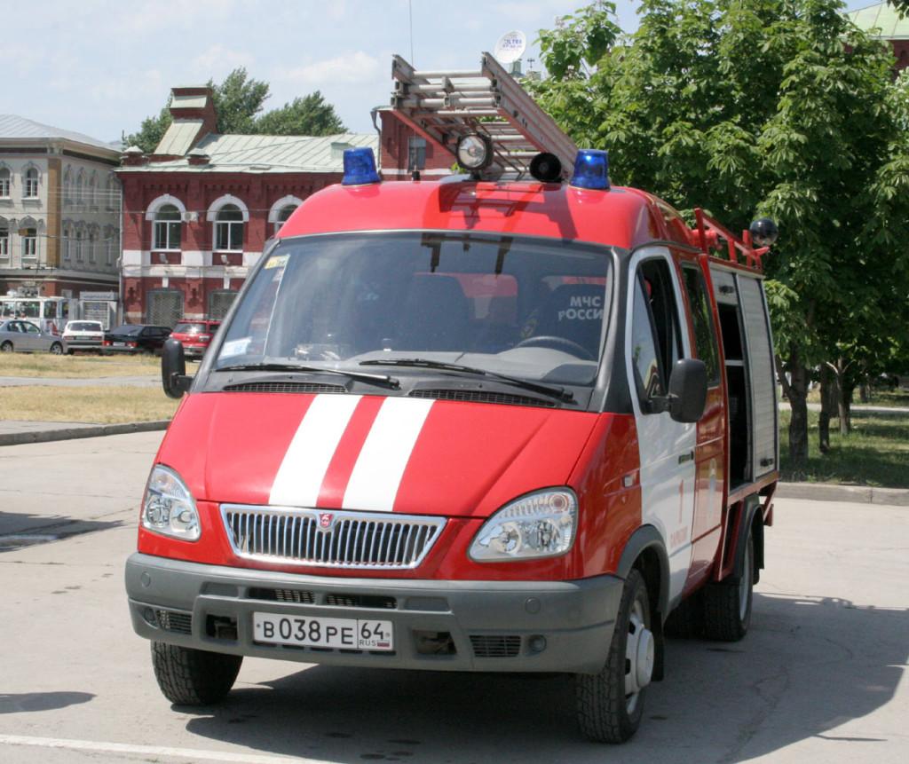 пожарная газель