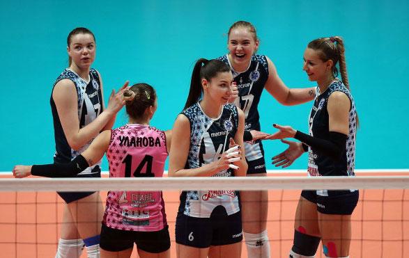 Волейболистки-«Динамо-Казани»