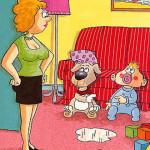 карикатура-ребенок