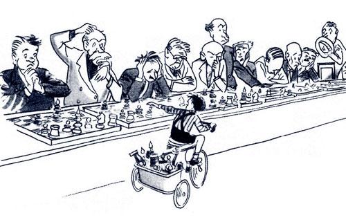 карикатура-шахматы