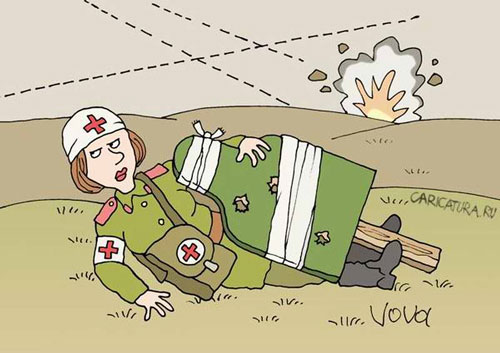 карикатура-учения